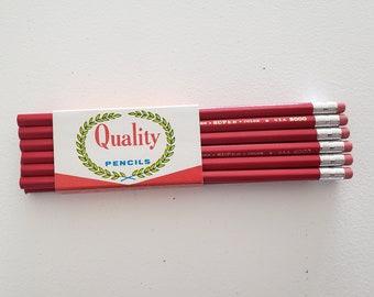 Vintaje pencils,soviet pencils,old pencils 1989,vintage souvenir