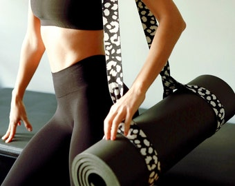 Yoga Pilates Mat Strap Workout Accessories Mat Carrier Sling Pilates Gift Yoga Gift Outdoor Gift