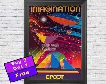 Disney Imagination Pavilion Blueprint  3024