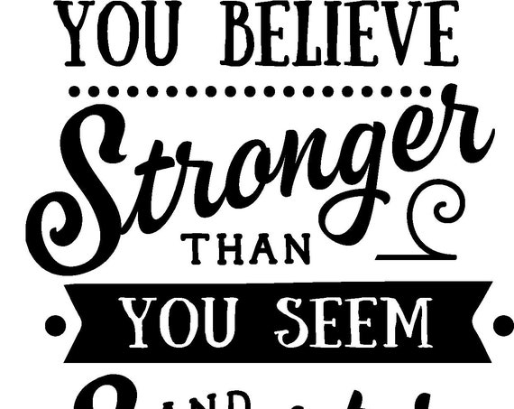 autism: you are braver than you believe stronger than you seem and smarter than you think