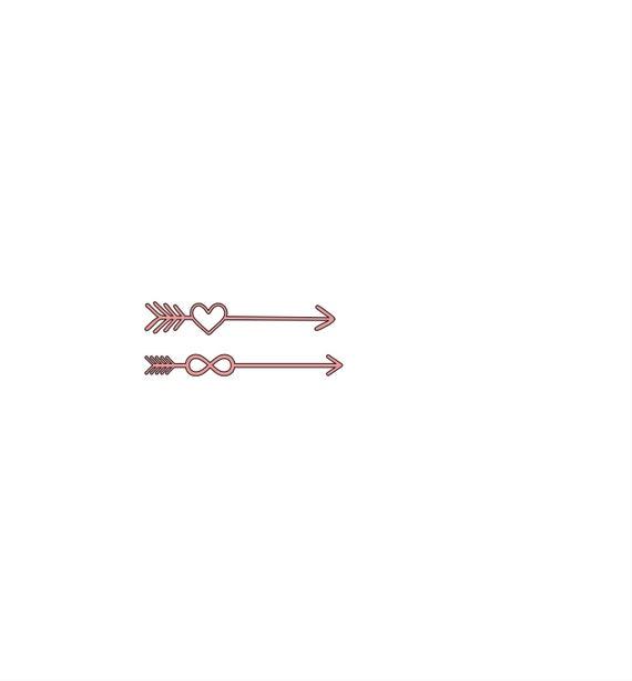 Infinity & heart arrow