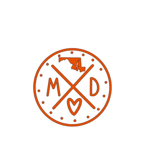 Maryland State Stamp
