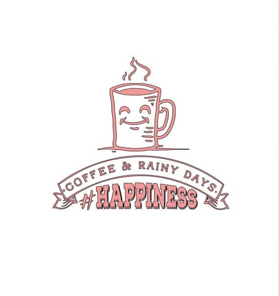 Coffee and Rainy days #happiness