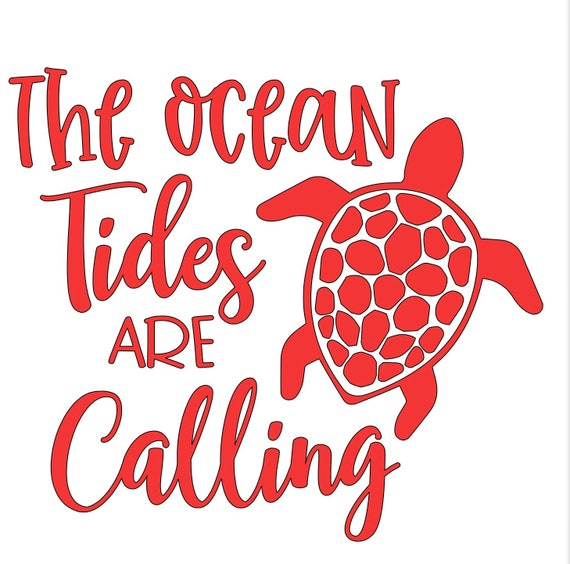 The ocean tides are calling