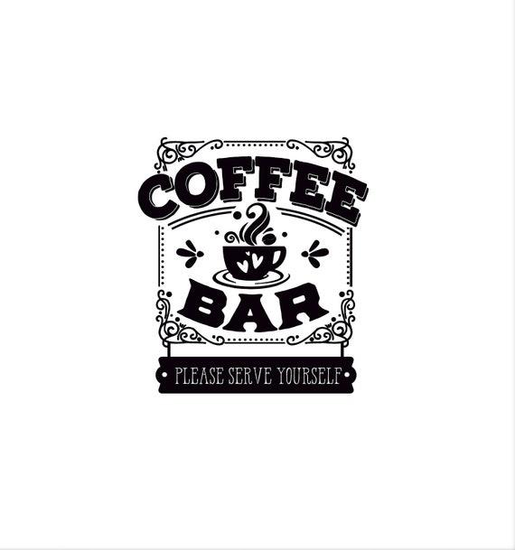 Coffee bar: please help yourself