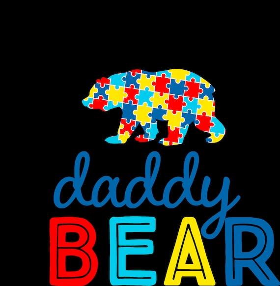 Autism: daddy bear