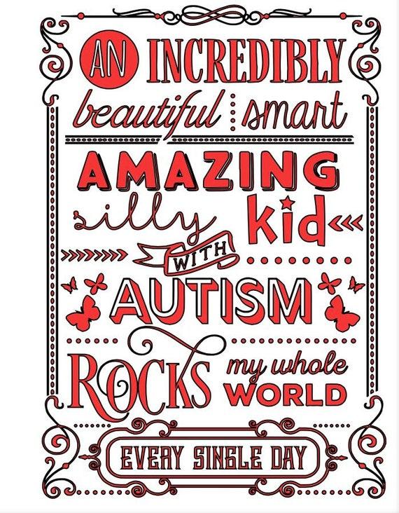 Autism- an incredibly beautiful