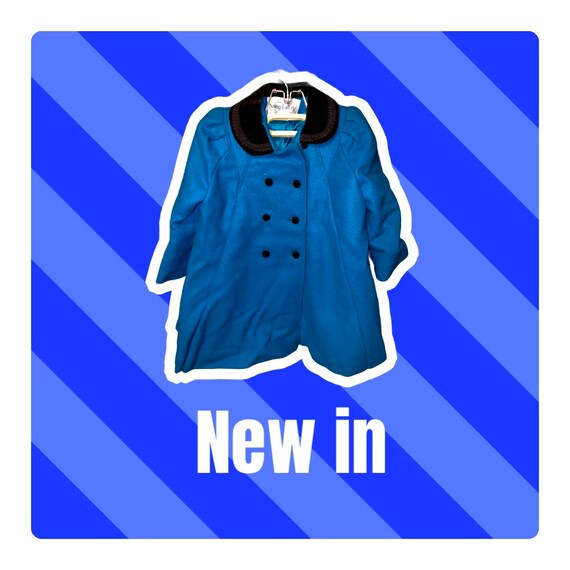 Young Gallery Vintage PeaCoat 4T