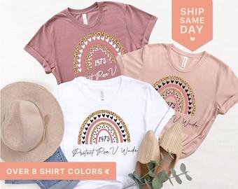 Protect Roe V. Wade Shirts, Pro Choice T-Shirt,  Reproductive Rights Shirt, Women's Right Shirt,  Feminist Shirts, My Body (Women-1)
