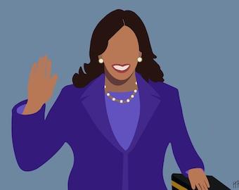 Kamala Harris Swearing in from Inauguration 2021