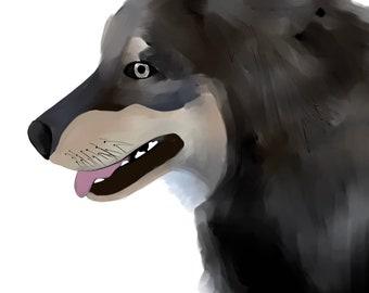 Paint-style Pet Portraits