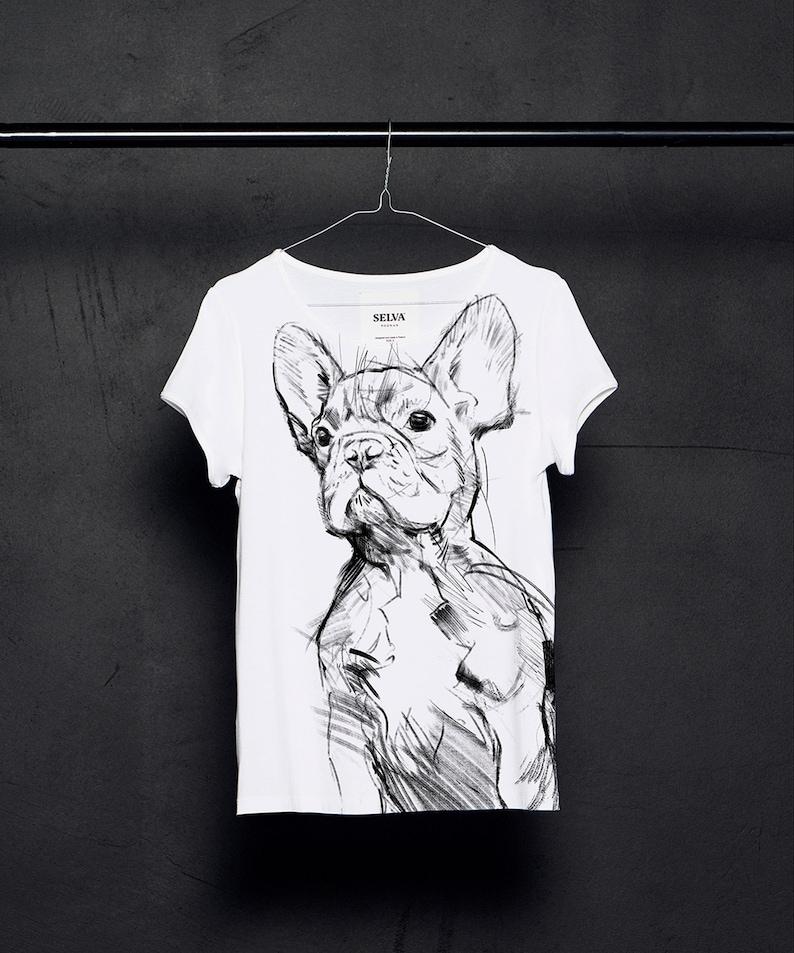 Dog lover gift French Bulldog Dog T-shirt Woman t-shirt Dog t-shirt Dog shirt Dog Dogs lover shirt Dogs lover gift Dog lover women