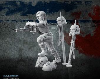 Star Wars Legion 3d Custom Miniature Separatist Droideka pair  by Madox 3D Design