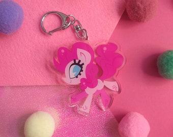 MLP Pinkie Pie Acrylic Charm Keychain