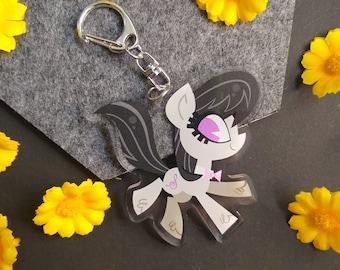 MLP Octavia Acrylic Charm Keychain