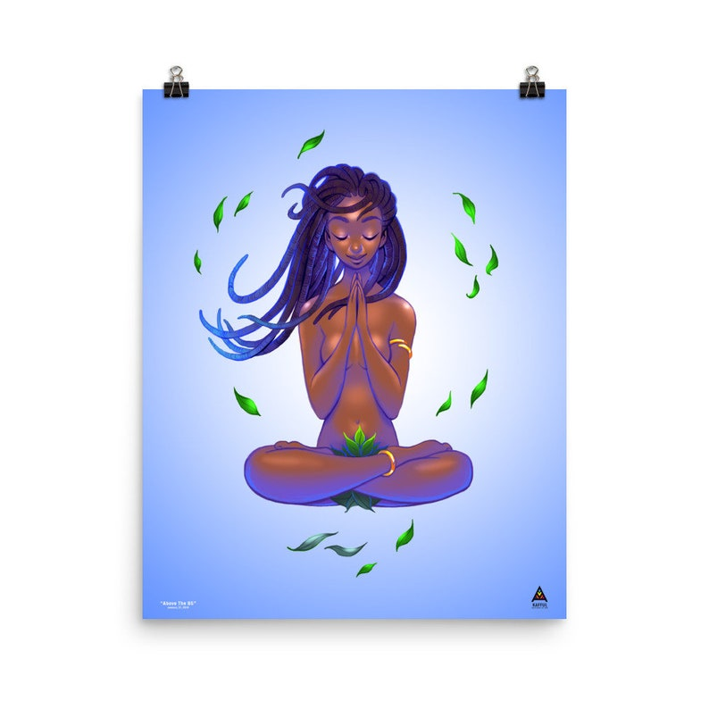 Kafful Above The BS Print Poster by El Carna