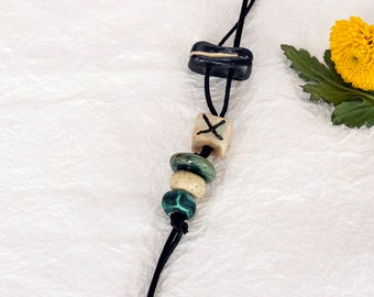 aged beads Handmade Beads gifts from the sea antique pottery pieces- large ceramic beads unique earrings beads crafted rustic beads