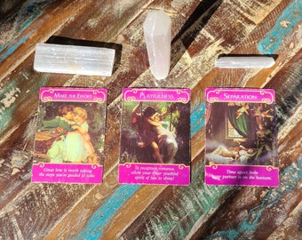 Email, Text, Audio and Video recordings - Soulful & Intuitive Psychic Tarot Readings