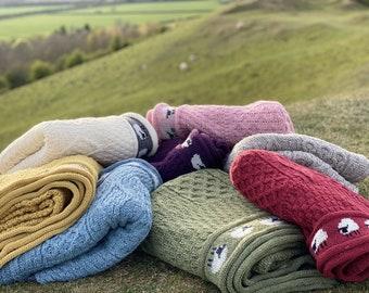 Wool Sheep Throw, 100% British Wool