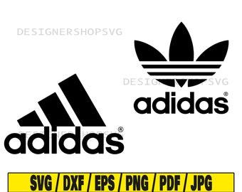 Eliminar ángel tarde  Adidas logo svg | Etsy