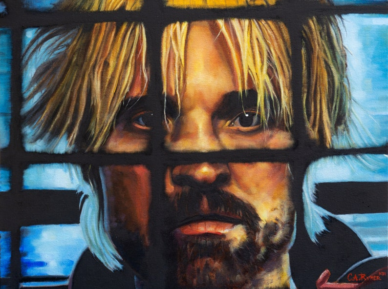 Good Time  print from oil painting  8.5x11in. & 13x19in.  image 0