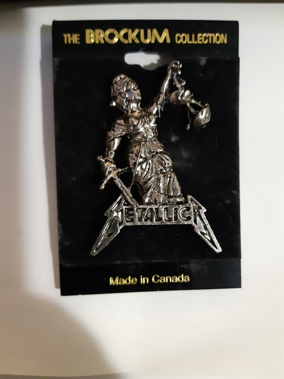 VINTAGE 1988 Brockum collection Metallica And Just