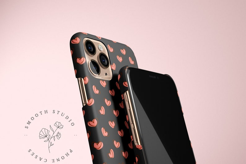 Kawaii Phone Case iPhone 12 Case Apple iPhone 11 Aesthetic Phone Case Heart iPhone Case Cute iPhone Case iPhone 12 Pro Max Case