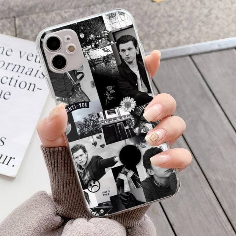 Spiderman Phone Case Tom Holland Phone Case For iPhone 12 Pro Max 11 Pro Max Xs Xr X 8 7 6 6s Plus Fundas
