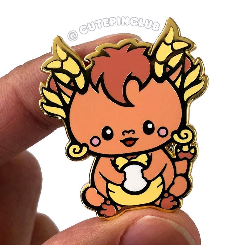 Baby Dragon Hard Enamel Pin
