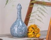 Vintage Japanese Arita yaki porcelain vase
