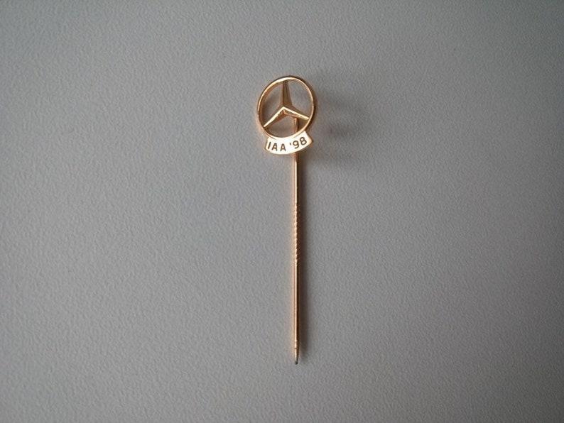 Mercedes-Benz IAA/'98 original vintage historical car car lapel pin lapel pin flash pin 925 silver plated