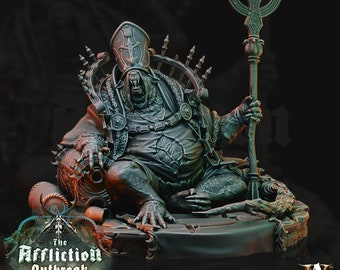 Brood Mother Archvillain Games 3D Printed Model 75mm etc. DnD Affliction Outbreak Warhammer roughly Age of Sigmar