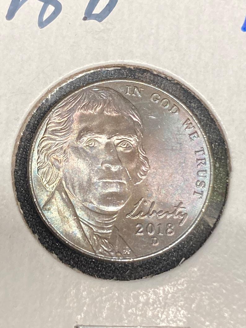 2018D jefferson nickel