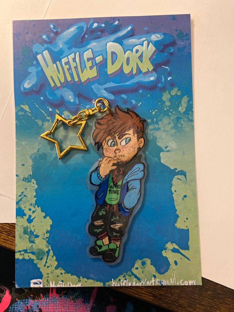 Custom Shrinky Dink Keychains and Pins