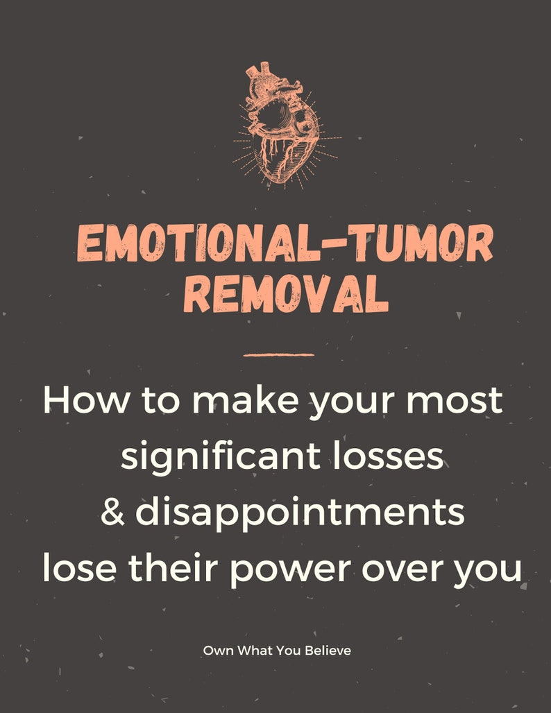 emotional mourning losses journal templates divorce neglect image 1