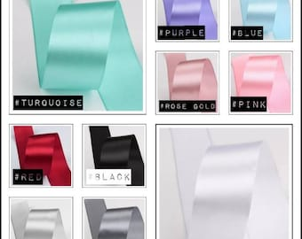 22.5m Double Faced Satin Ribbon With Lurex Width 3mm Ribbons Ribbons Single Colour Haberdashery