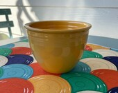 Vintage Fiesta (Fiestaware) Nested Mixing Bowl 1 in YELLOW