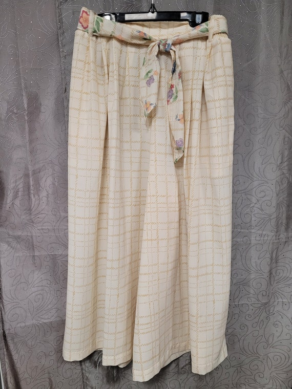 Women's Gaucho Pants, Gaucho Pants, Vintage Gauch… - image 1