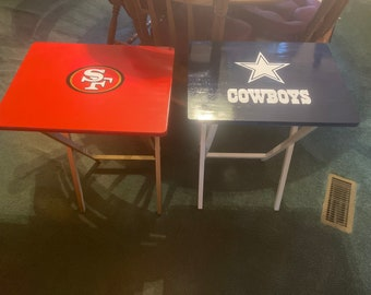 Custom personalized TV tray