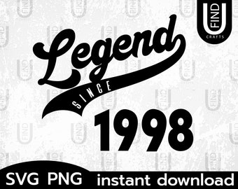 I/'m Not Old I/'m A Classic SVG Limited Edition 1998 Custom Built Car Birthday PNG Born In 1998 svg Awesome Since 1998 Bday Svg Digital File