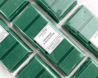 Cleethorpes Rock 2oz Soy and Premium Fragrance Spearmint Candy Wax Melt