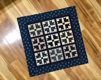 """Duck, Duck, Goose, small quilt PDF pattern 22.5"""""""