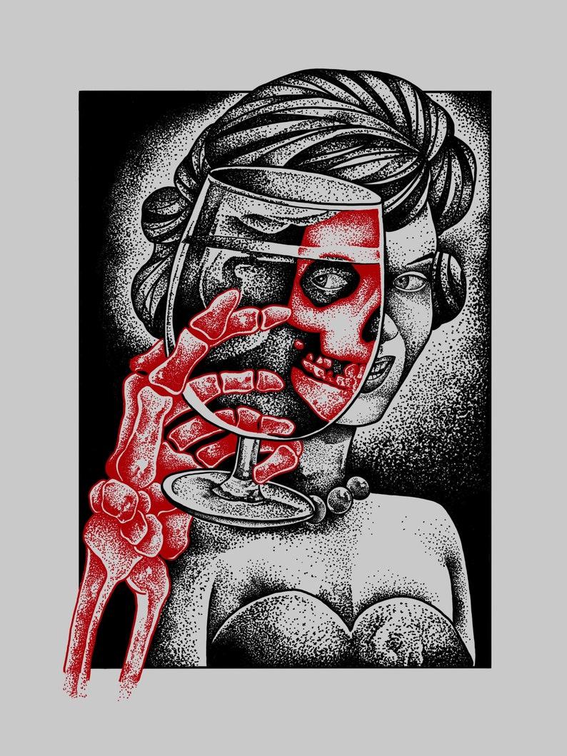 Misfits silkscreen art print image 0