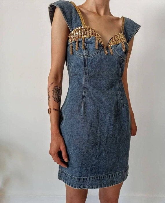 Vintage Katharine Hamnett Denim Dress