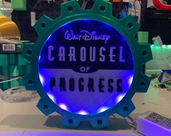 Carousel of Progress Figurine