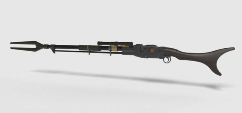 Mandalorian Rifle STL File