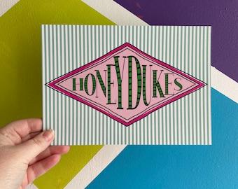 Honeydukes Print, Poster, Wall Art, Harry Potter Print, Bedroom Print, Potter Inspired, Honeydukes Sweet Shop Print, Puking Pastilles