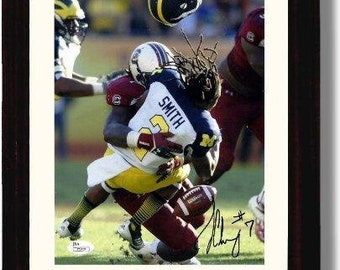 College Football Jadeveon Clowney Autograph Replica Print South Carolina Gamecocks Desktop Frame