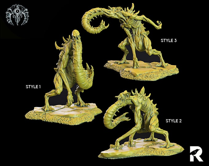 Bloodsuckers   4K RESIN 3D Printed Tabletop Miniature for Role-playing Games and Collector Displays   Bestiarum Miniatures