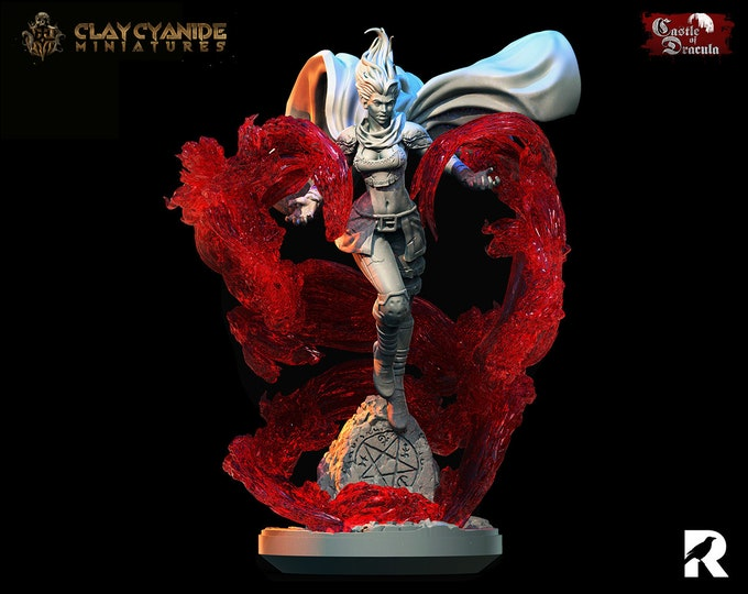 Vampire Ambrosia   Clay Cyanide Miniatures   Castle of Dracula   RESIN   Fantasy   DnD   RPG   Tabletop   Gaming   Miniatures